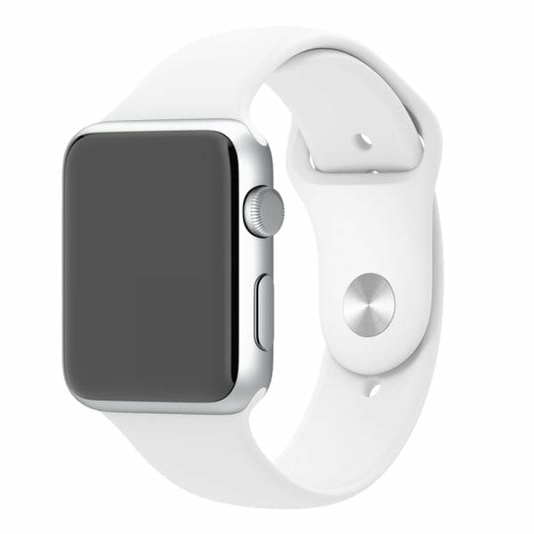 Apple watch bandjes 38mm sport bandje M/L - Wit
