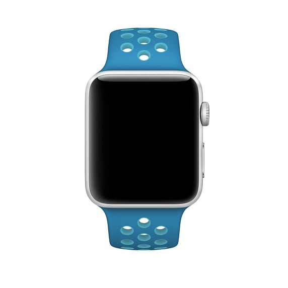 sport bandje voor de Apple Watch-Blauw-Lichtblauw-003