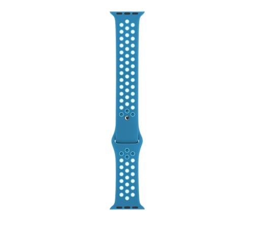 sport bandje voor de Apple Watch-Blauw-Lichtblauw-004