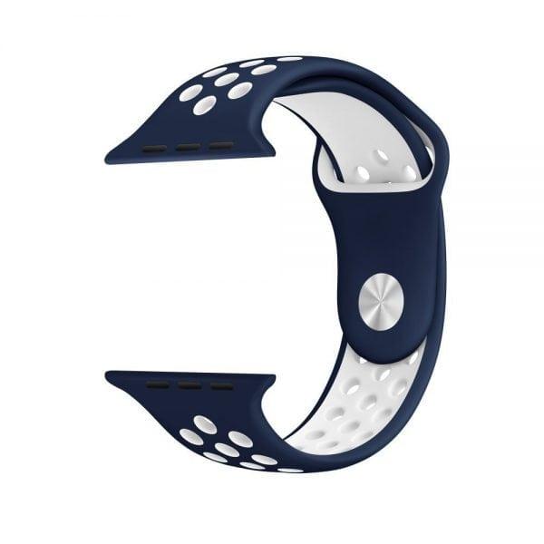 sport bandje voor de Apple Watch-blauw-wit-006