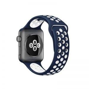 sport bandje voor de Apple Watch-blauw-wit-009