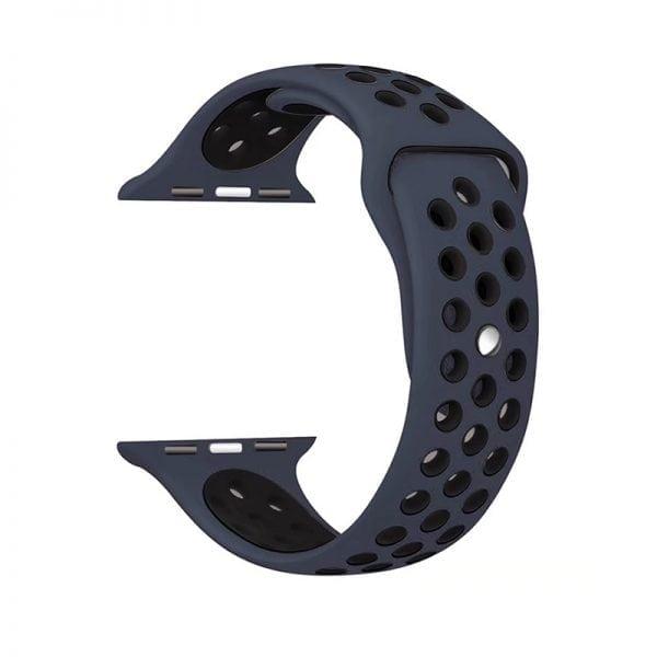 sport bandje voor de Apple Watch-blauw-zwart-002