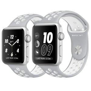 sport bandje voor de Apple Watch-grijs-wit-001