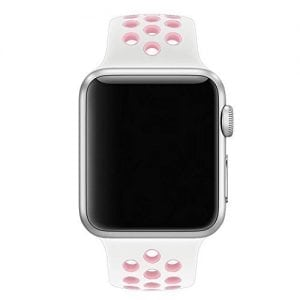 sport bandje voor de Apple Watch-wit-rose-001