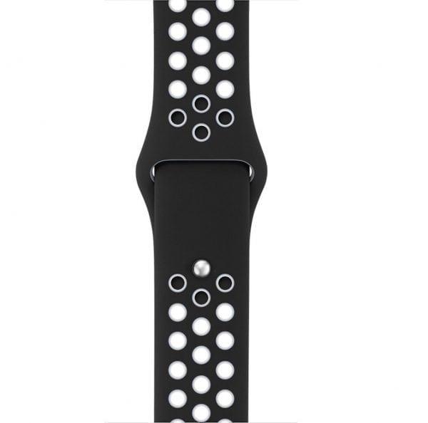 sport bandje voor de Apple Watch-zwart-wit-004