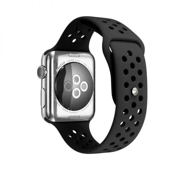 sport bandje voor de Apple Watch-zwart-zwart-003