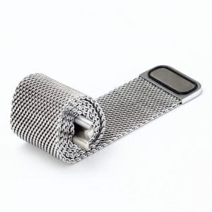 Milanese Loop rvs zilver bandje voor de Apple Watch 42mm-002