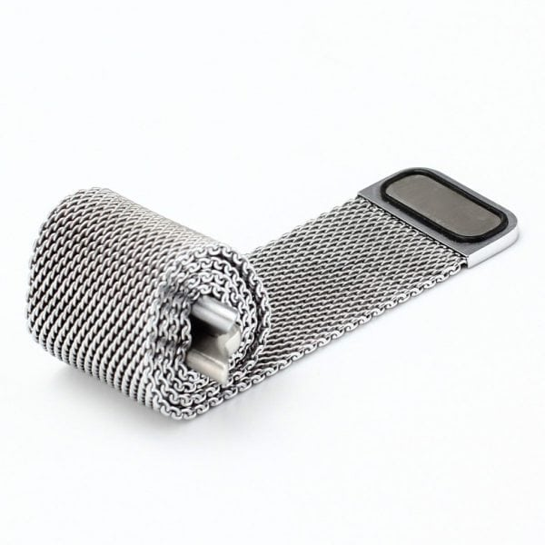 Milanese Loop rvs zilver bandje voor de Apple Watch 42mm-002