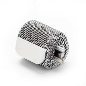 Milanese Loop rvs zilver bandje voor de Apple Watch 42mm-003