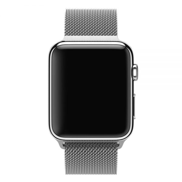 Milanese Loop rvs zilver bandje voor de Apple Watch 42mm-005