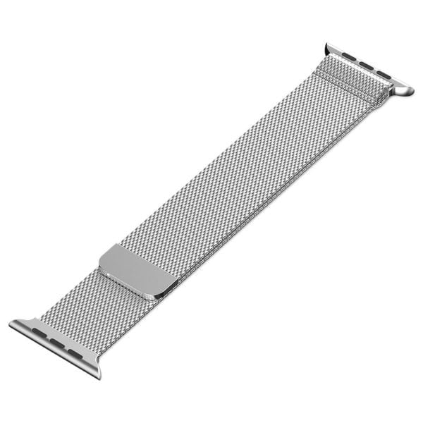 Milanese Loop rvs zilver bandje voor de Apple Watch 42mm-008