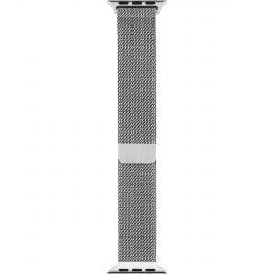 Milanese Loop rvs zilver bandje voor de Apple Watch 42mm-009