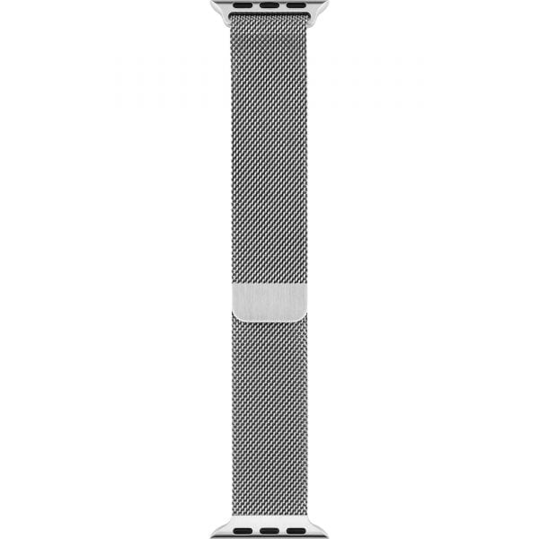 Milanese Loop rvs zilver bandje voor de Apple Watch 42mm-009