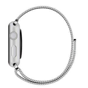Milanese Loop rvs zilver bandje voor de Apple Watch 42mm-010