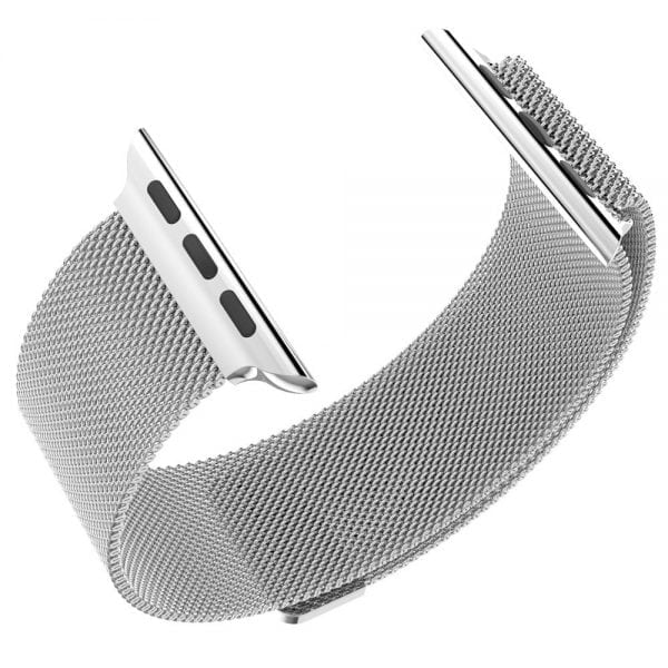 Milanese Loop rvs zilver bandje voor de Apple Watch 42mm-014