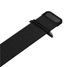 Milanese Loop rvs zwart bandje voor de Apple Watch 42mm-002