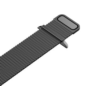 Milanese Loop rvs zwart bandje voor de Apple Watch 42mm-010