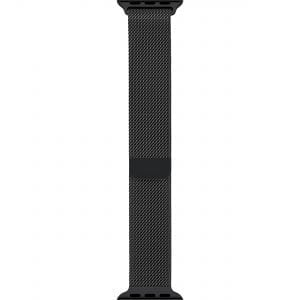 Milanese Loop rvs zwart bandje voor de Apple Watch 42mm-013