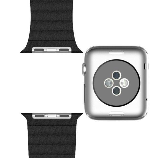 PU leather loop bandje voor de Apple watch 42mm bandje - zwart-003