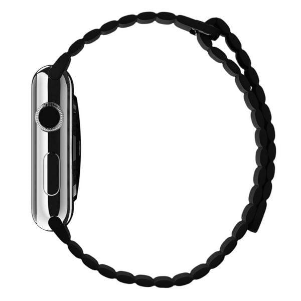 PU leather loop bandje voor de Apple watch 42mm bandje - zwart-007