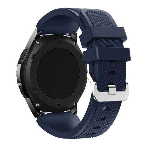 Bandje Voor de Samsung Gear S3 Classic Frontier - - Donker Blauw-001