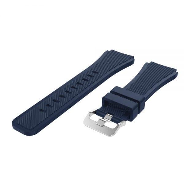 Bandje Voor de Samsung Gear S3 Classic Frontier - - Donker Blauw-003