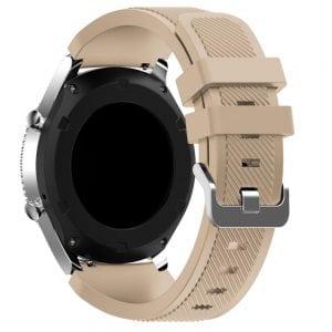 Bandje Voor de Samsung Gear S3 Classic Frontier - Licht Bruin-001