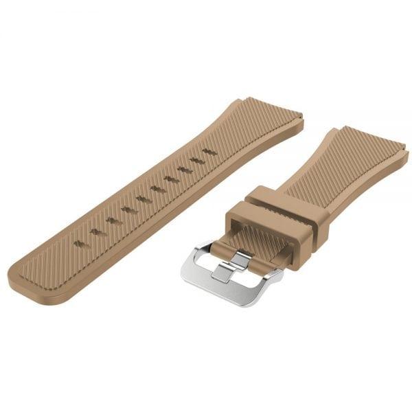 Bandje Voor de Samsung Gear S3 Classic Frontier - Licht Bruin-002