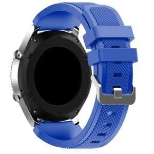Bandje Voor de Samsung Gear S3 Classic Frontier blauw-001