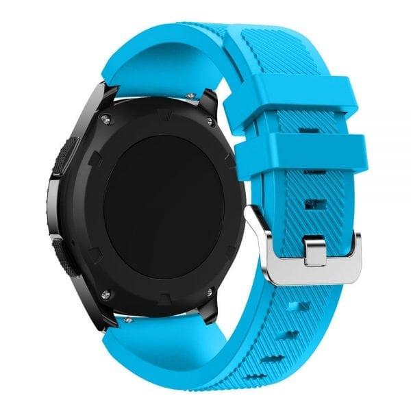Bandje Voor de Samsung Gear S3 Classic Frontier-licht-blauw-001