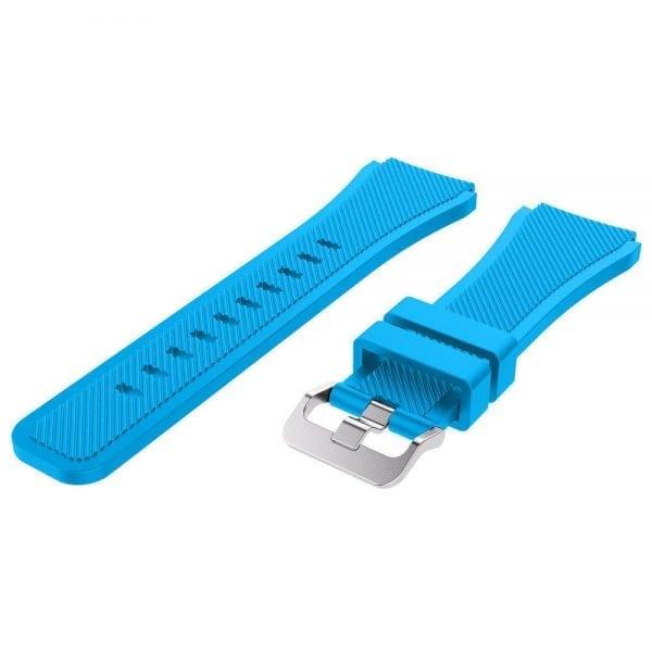 Bandje Voor de Samsung Gear S3 Classic Frontier-licht-blauw-002