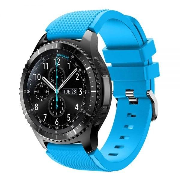 Bandje Voor de Samsung Gear S3 Classic Frontier-licht-blauw-003