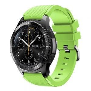 Bandje Voor de Samsung Gear S3 Classic Frontier licht groen-002