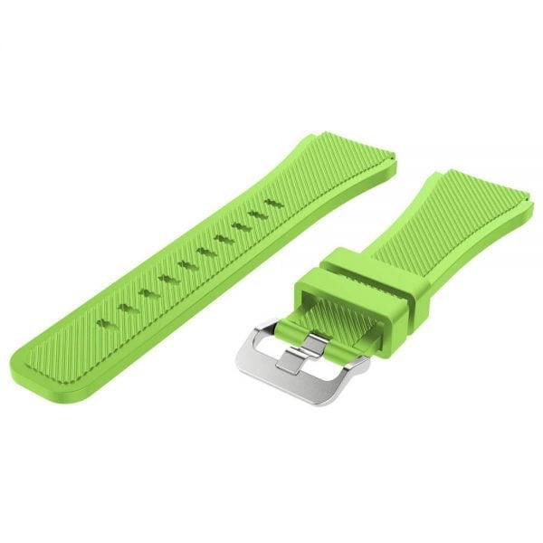 Bandje Voor de Samsung Gear S3 Classic Frontier licht groen-003
