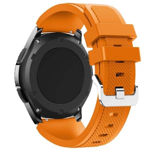 Bandje Voor de Samsung Gear S3 Classic Frontier-oranje-001