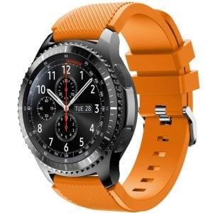 Bandje Voor de Samsung Gear S3 Classic Frontier-oranje-002