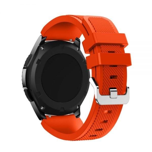 Bandje Voor de Samsung Gear S3 Classic Frontier-oranje-rood-001