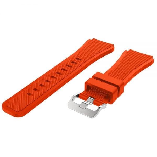 Bandje Voor de Samsung Gear S3 Classic Frontier-oranje-rood-003