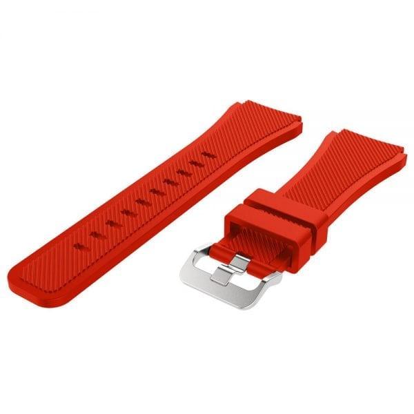 Bandje Voor de Samsung Gear S3 Classic Frontier-rood-002