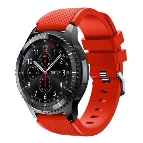 Bandje Voor de Samsung Gear S3 Classic Frontier-rood-003