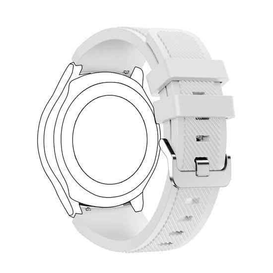 Bandje Voor de Samsung Gear S3 Classic Frontier wit-003