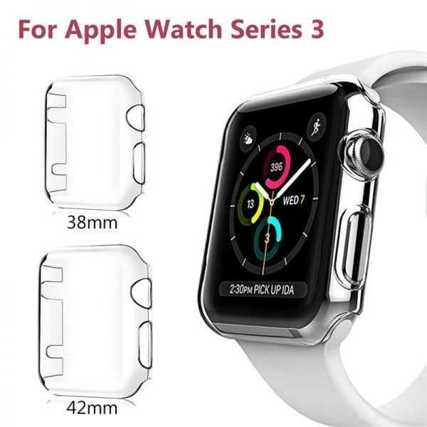 Case Cover Screen Protector Transparent 4H Apple watch 3-001