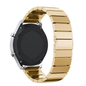 RVS goud metalen bandje voor de Samsung Gear S3 | Galaxy watch 46mm SM-R800