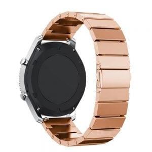 RVS rose metalen samsung gear s horlogebandje