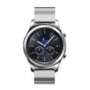 RVS zilver metalen bandje voor de Samsung Gear S3 | Galaxy watch 46mm SM-R800