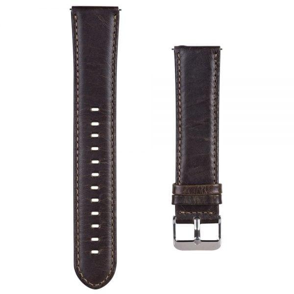 Retro Leren Bandje Voor de Samsung Gear S3-001