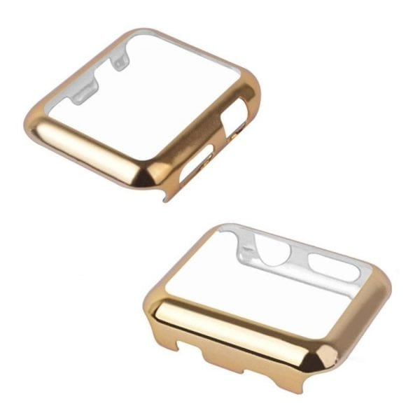 38mm Case Cover Screen Protector Goud 4H Protected Knocks Watch Cases voor Apple watch voor iwatch 2-001
