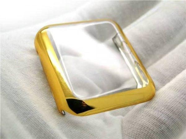 38mm Case Cover Screen Protector Goud 4H Protected Knocks Watch Cases voor Apple watch voor iwatch 2-003
