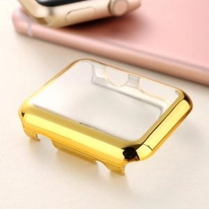 38mm Case Cover Screen Protector Goud 4H Protected Knocks Watch Cases voor Apple watch voor iwatch 2-004