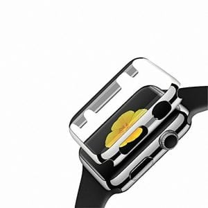 Case Cover Screen Protector Zilver 4H Protected Knocks Watch Cases voor Apple watch voor iwatch 2-001